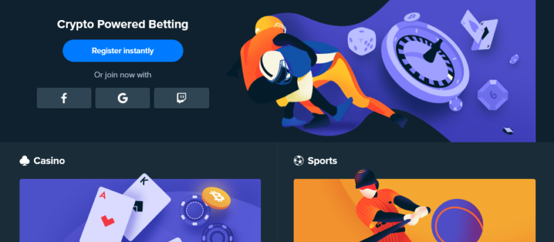 Play bitcoin roulette game