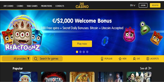 Top 10 free casino games