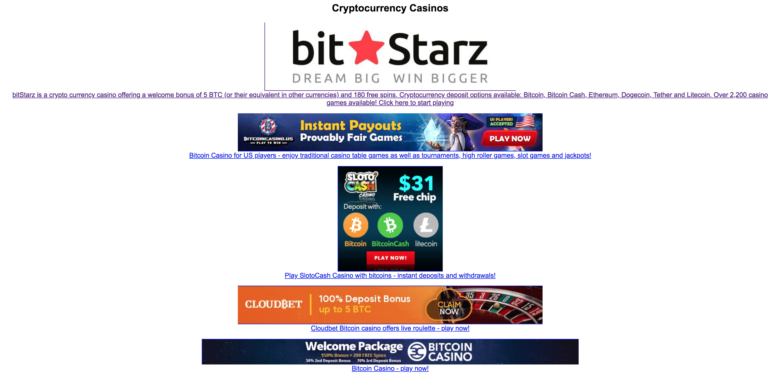 1000 free bonus bitcoin casino